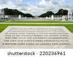 world war ii memorial... | Shutterstock . vector #220236961