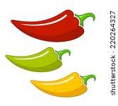 Three Different Hot Chilli...