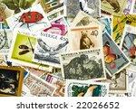 postage stamp | Shutterstock . vector #22026652