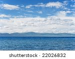 a view on lake tahoe from... | Shutterstock . vector #22026832