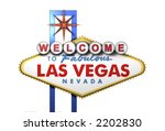 las vegas sign  viewed from