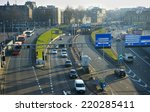 Amsterdam Highway  Aerial View...