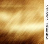 old shabby gold metal | Shutterstock . vector #220293877