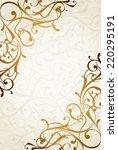 vintage background | Shutterstock .eps vector #220295191