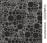 seamless background foam... | Shutterstock .eps vector #220298911