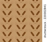 Brown Seamless Pattern With...