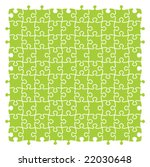 fully editable vector jigsaw... | Shutterstock .eps vector #22030648