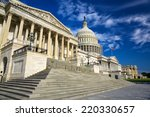 united states capitol building... | Shutterstock . vector #220330657