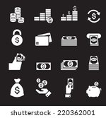 money icon | Shutterstock .eps vector #220362001