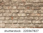 old bricks wall or construction ... | Shutterstock . vector #220367827