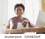 Middle Aged Woman Smiling For...