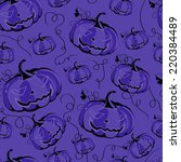 Seamless Purple Background Wit...