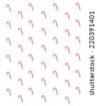 candy canes | Shutterstock . vector #220391401