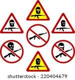 warning signs of terrorism....