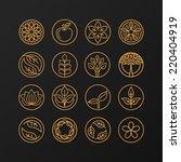 Vector Abstract Emblem  ...