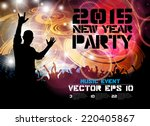 music event illustration.... | Shutterstock .eps vector #220405867