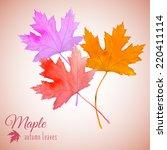 Watercolor Multicolor Autumn...