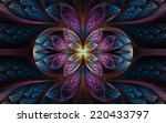 abstract fractal background | Shutterstock . vector #220433797