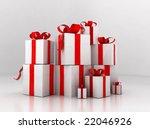gift boxes | Shutterstock . vector #22046926