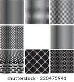 texture of metal grid... | Shutterstock .eps vector #220475941
