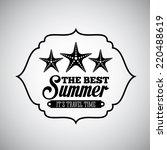 summer graphic design   vector...   Shutterstock .eps vector #220488619