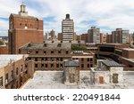 Nyc   Upper Manhattan Cityscape