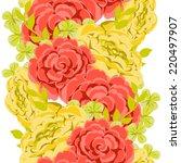 abstract elegance seamless... | Shutterstock .eps vector #220497907