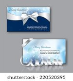 christmas greeting cards. could ... | Shutterstock .eps vector #220520395