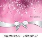 christmas background. vector... | Shutterstock .eps vector #220520467