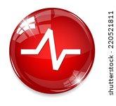 heart  button | Shutterstock .eps vector #220521811