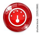 speedometers button   Shutterstock .eps vector #220523881