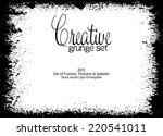 design template.abstract grunge ... | Shutterstock .eps vector #220541011