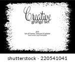 design template.abstract grunge ... | Shutterstock .eps vector #220541041