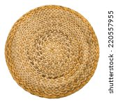 close up wicker handmade seat... | Shutterstock . vector #220557955