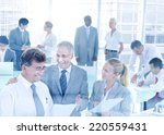 group of business people meeting | Shutterstock . vector #220559431
