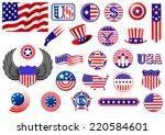 American Patriotic Badges ...