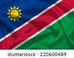 namibia flag | Shutterstock . vector #220600489