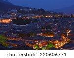 Lijiang Old Town At Night Time...