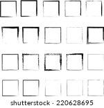 black borders   Shutterstock .eps vector #220628695