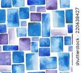 beautiful watercolor   seamless ... | Shutterstock .eps vector #220638427