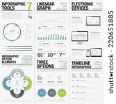 infographic tools 7   business... | Shutterstock .eps vector #220651885