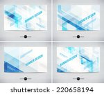 vector abstract banners... | Shutterstock .eps vector #220658194