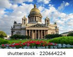 St. Isaac Cathedral In Saint...