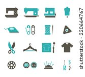 tailor icon | Shutterstock .eps vector #220664767