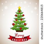 christmas graphic design  ... | Shutterstock .eps vector #220664815