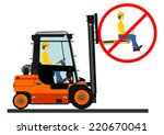 dangers of working with a... | Shutterstock .eps vector #220670041