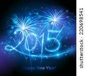 New Year's Fireworks 2015