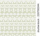 tribal art ethnic seamless... | Shutterstock . vector #220700344