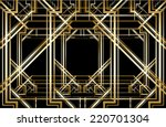 vector retro pattern for... | Shutterstock .eps vector #220701304