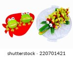 Frogs Apple And Cucumber...